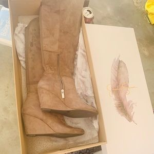 Jessica Simpson size 7 wedge boots.